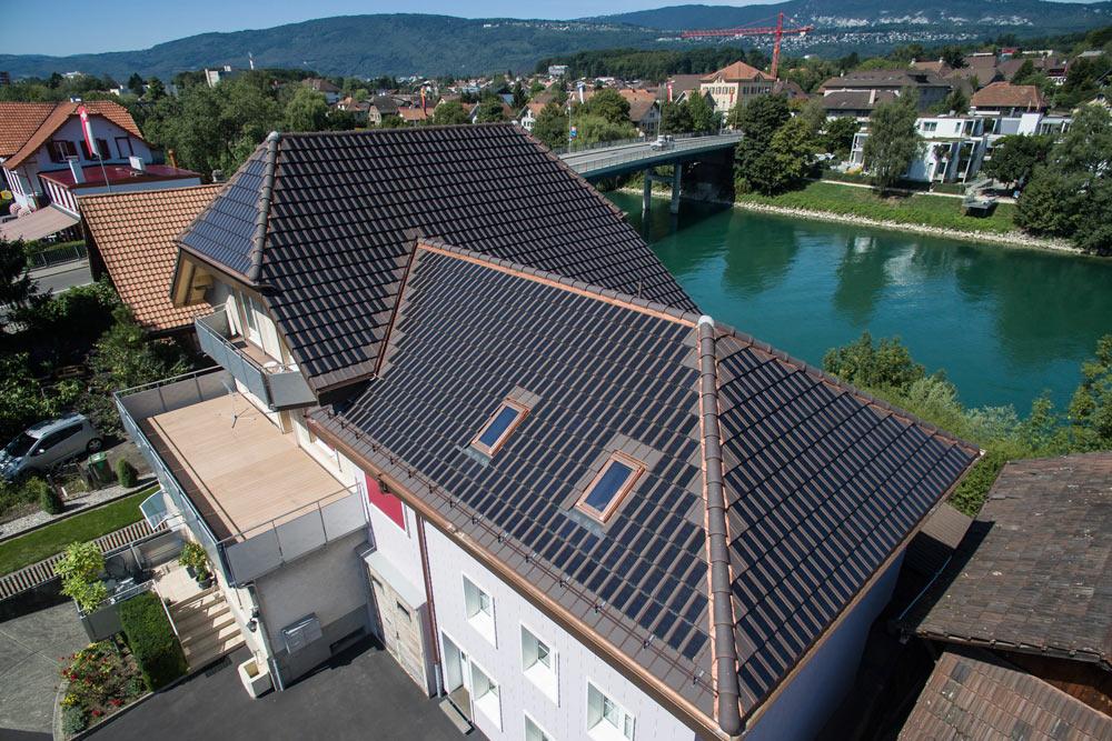 Wohnhaus Aegerten Panotron Gasser Ceramic