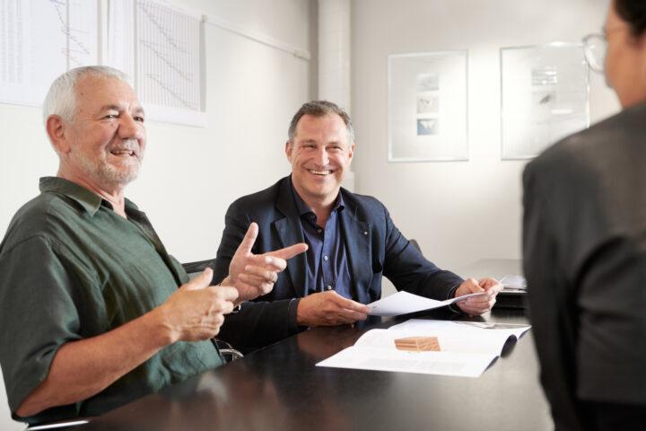 Thomas Strässler und Rudolf Gasser im Interview