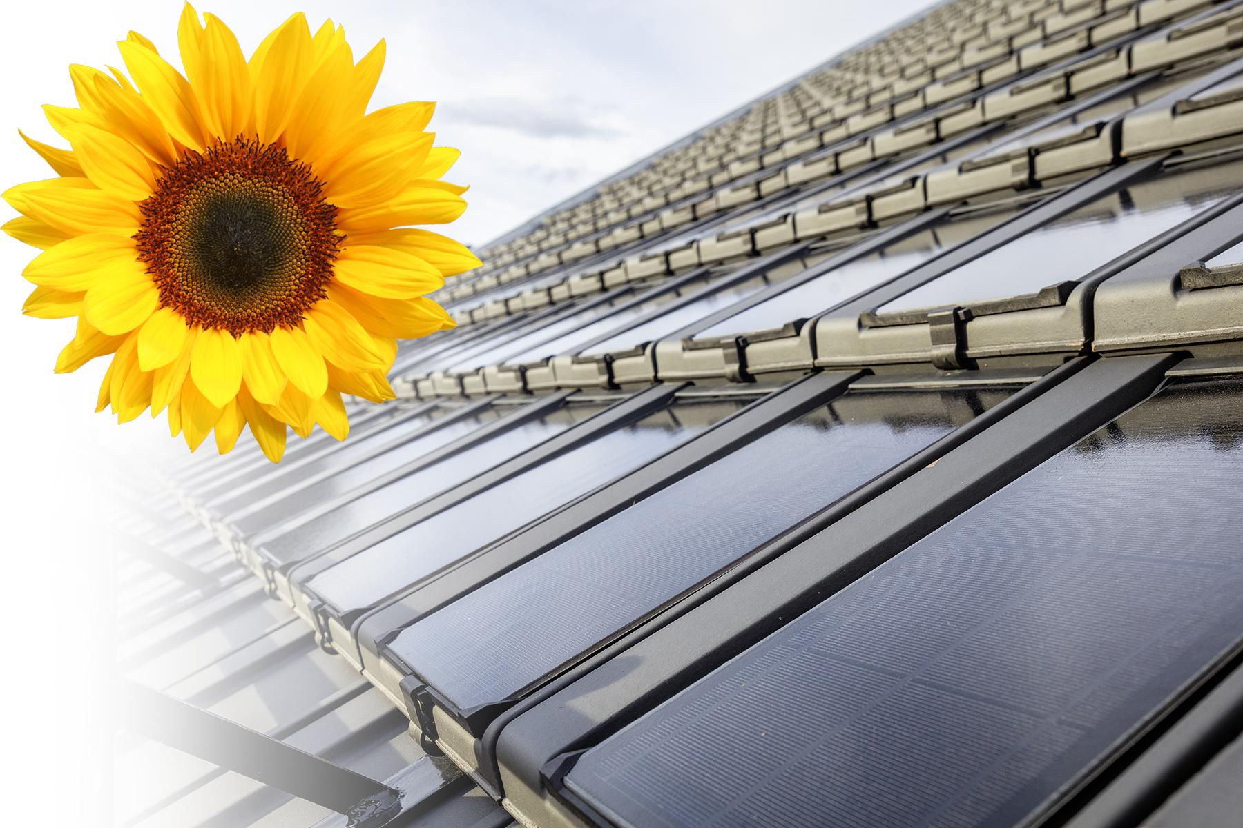 Photovoltaik-Solarziegel PAN 29 aus der Schweiz von Gasser Ceramic
